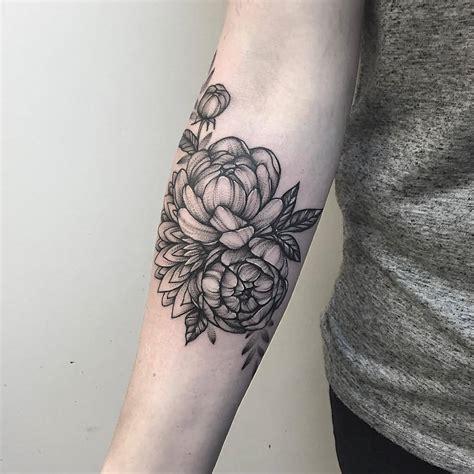 peony tattoo 53 attractive peony tattoos ideas