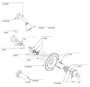 faucet parts names moen t2152orb parts list and diagram ereplacementparts