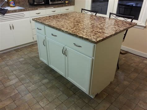 diy kitchen island from stock cabinets 22 unique diy kitchen island ideas guide patterns