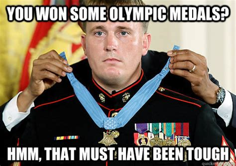 Medal Meme - you won some olympic medals hmm that must have been
