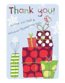 thank you cards for christmas gifts homeminecraft