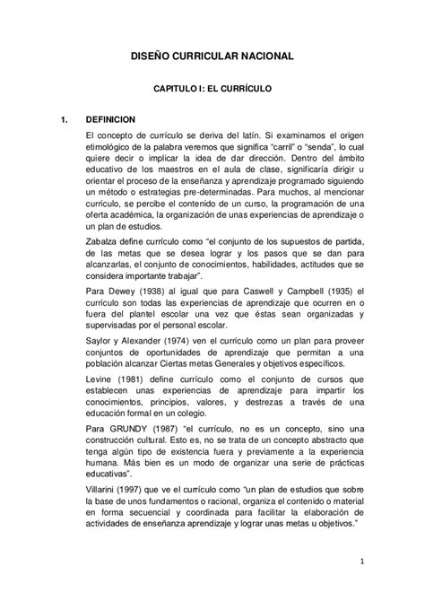 Diseño Curricular Nacional Definicion Dise 241 O Curricular Nacional Peru