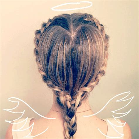 braided hairstyles heart 7 pretty heart shaped hairstyles for valentine s days