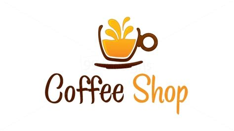 coffee shop logo design online coffee shop logo pinterest coffee pics coffee and logos