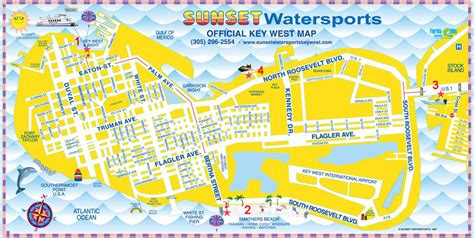 printable map key west key west map