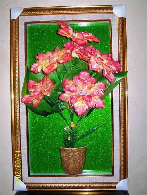 Hiasan Dindin Bunga Abstrak Kuning jual hiasan dinding vas bunga 3d dekorasi minimalis