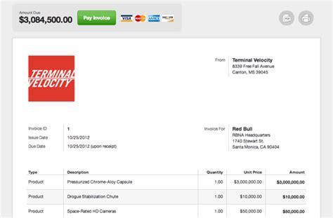 Modern Invoices Joy Studio Design Gallery Best Design Stripe Invoice Template