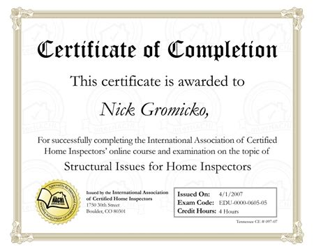 download your certificates of completion when you complete