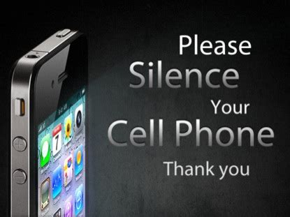 please silence your cell phone 2 | igniter media