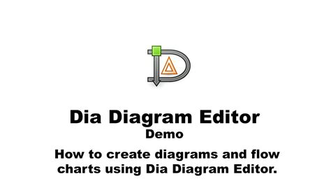 how to use dia diagram editor how to use dia diagram editor
