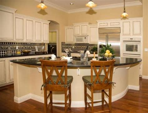 round kitchen island with seating round seated island
