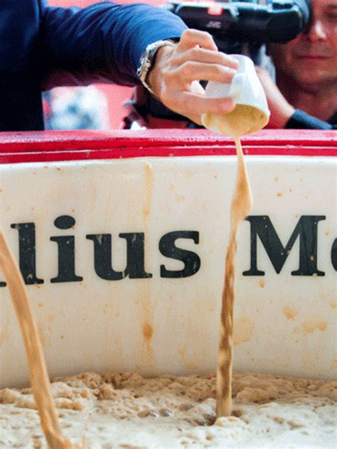 julius meinl brews worlds biggest cappuccino food