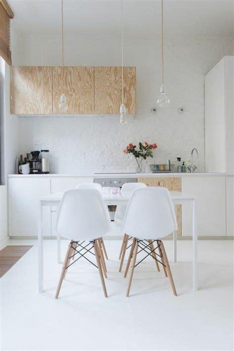 cuisine blanche et bois 53 variantes pour les cuisines blanches