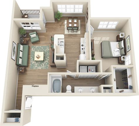 Appartments In Colorado by One And Two Bedroom Apartments In Colorado Springs Co