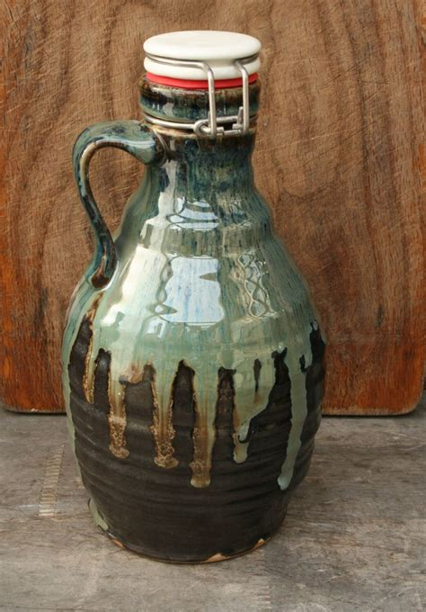 Handmade Growler - 10 images about pottery growlers on
