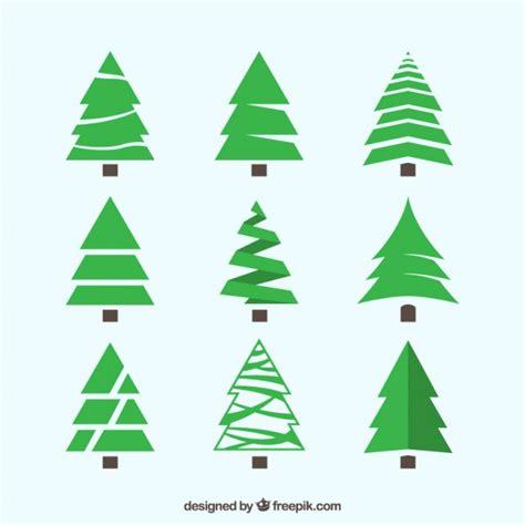 alberi di natale diversi confezione da verdi alberi di natale con stili diversi