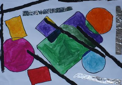 unit 1 painting lines and shapes