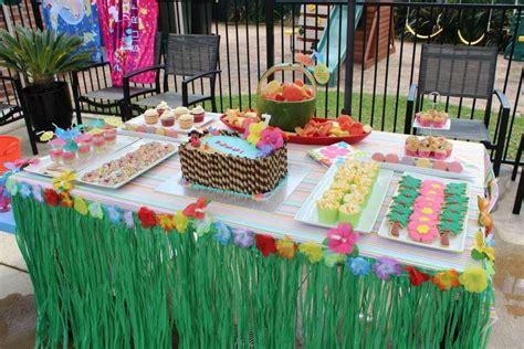 hawaiian decorations for birthday party home party ideas
