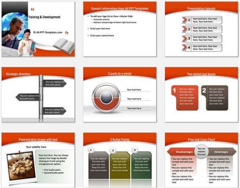 Powerpoint Training Development Template Certification Template Ppt