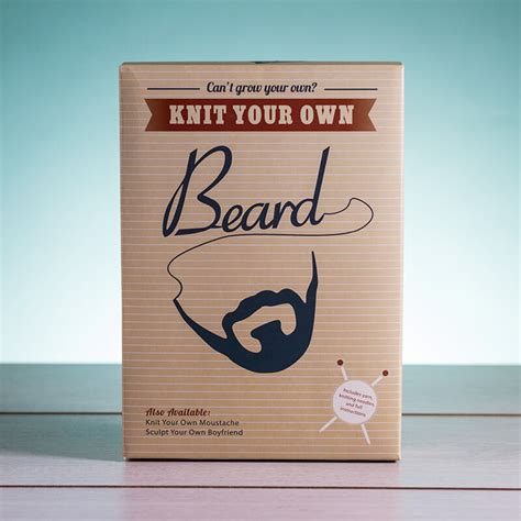 knit your own knit your own beard buy from prezzybox