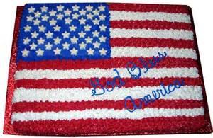 amerikanischer kuchen flag