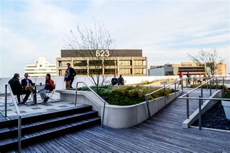 Landscape Architecture Office 816 Congress Roof Transformation Dwg
