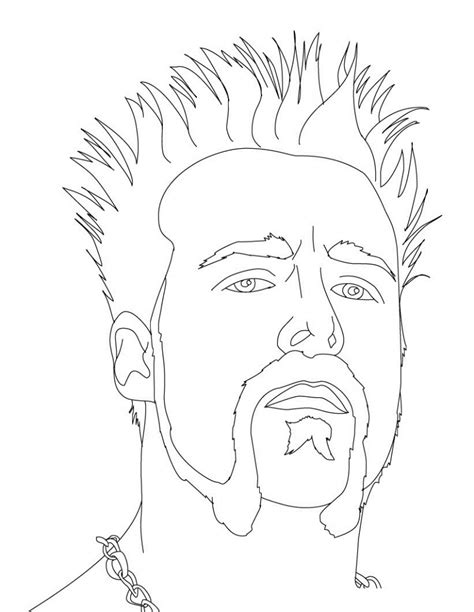 printable pictures wwe wrestlers free printable wwe coloring pages for kids