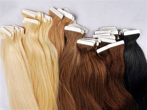 hair extension seamless weft