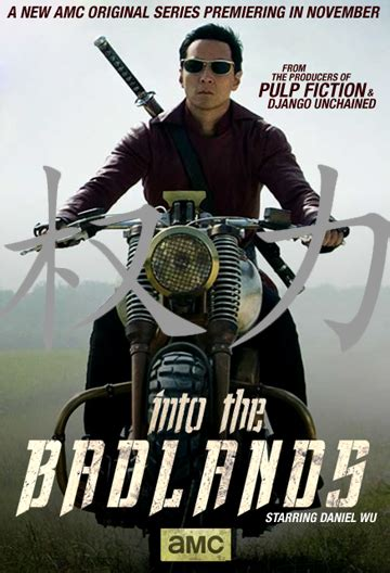 amc into the badlands poster action packed fight clip from amc s into the badlands