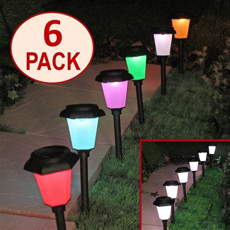 color changing solar path lights solar color changing lights solar lights blackhydraarmouries