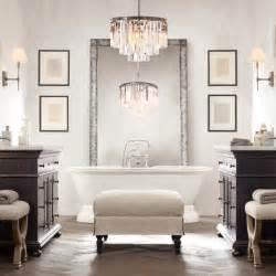 bathroom chandelier 20 bathroom chandelier designs decorating ideas design