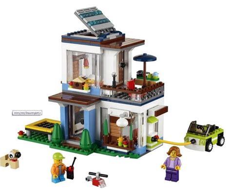 home creator lego 31068 modular modern home i brick city