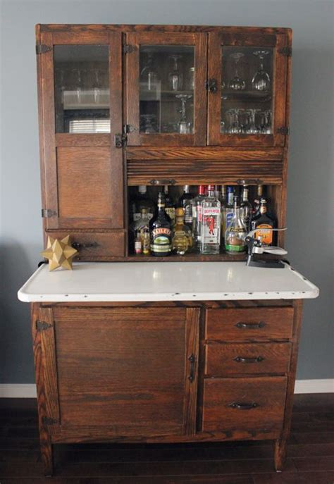 Hutch Bar Best 25 Bar Hutch Ideas On Hutch Makeover