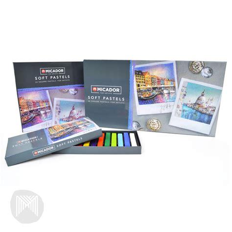 Crayon 12 Pastel Deli 6961 micador crayons soft pastels 12 pack