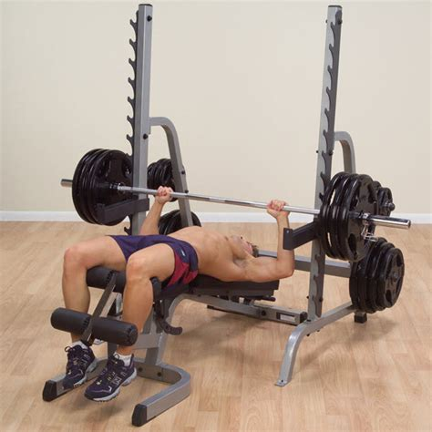 body solid combo bench body solid bench rack combo free shipping