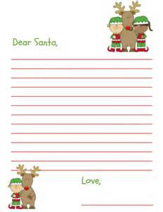 dear santa letter template free dear santa letter free printable for and grandkids