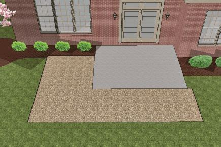 Adding Pavers To Concrete Patio How To Install Pavers Existing Concrete Patio And Extend Out House Rev