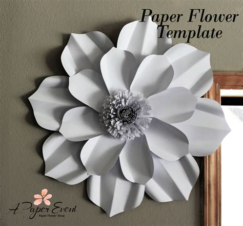 diy paper flower template paper flower template diy paper flower diy backdrop