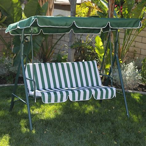 Patio Swing Green Patio Swing Canopy Replacement Semi Circle Outdoor Swing