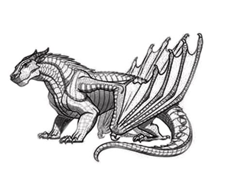 free coloring pages of wings of fire