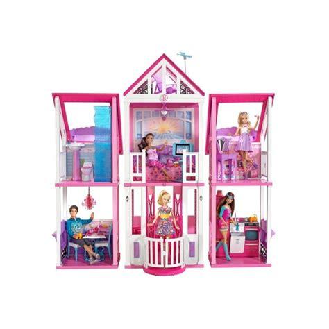 casa di barbi la casa di malibu w3141 mattel giocattoli
