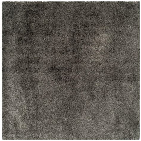 Square Area Rugs 9 X 9 Safavieh Shag Silver 9 Ft X 9 Ft Square Area Rug Sg511 7575 9sq The Home Depot