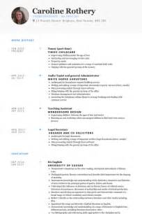 Nanny Resume Sle Templates by Part Time Arts Resume Sales Lewesmr