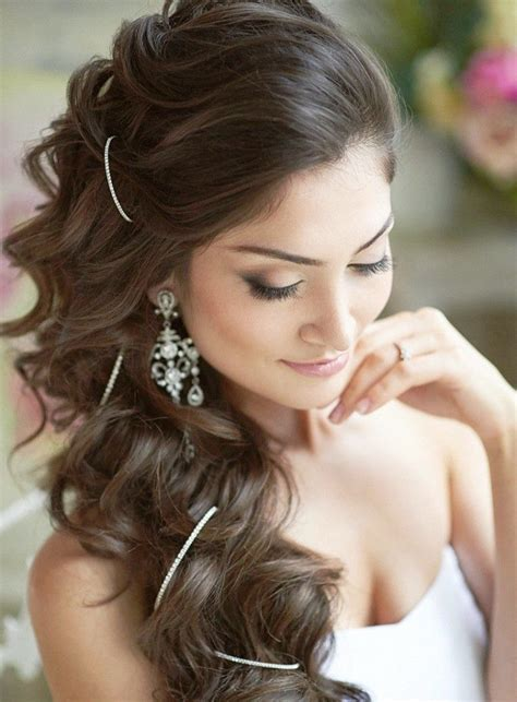 very beautiful wedding hairstyles   Elle Hairstyles