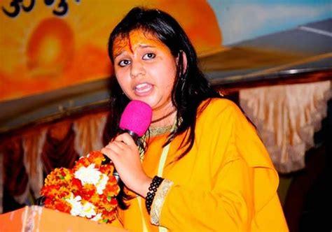 section 153 a ipc case registered against sadhvi balika saraswati indiatv news