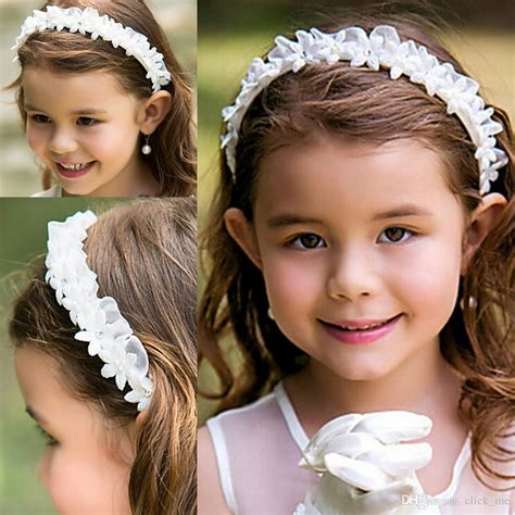 Wedding Hair Accessories For Toddlers by Flower Headbands Toddler Flowers Hair