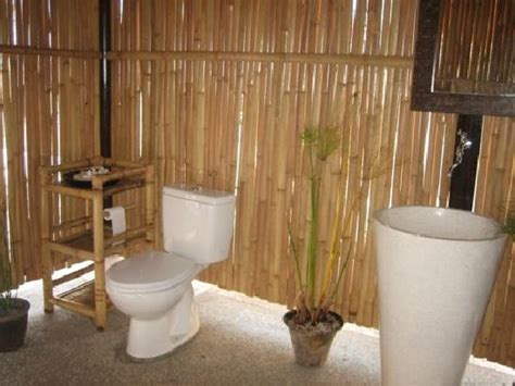 bamboo bathroom shack 58 picture of shack 58 59 gili