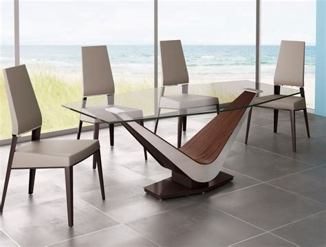 Contemporary Glass Dining Tables And Chairs Styles Modern Dining Room Table And Chairs Twipik