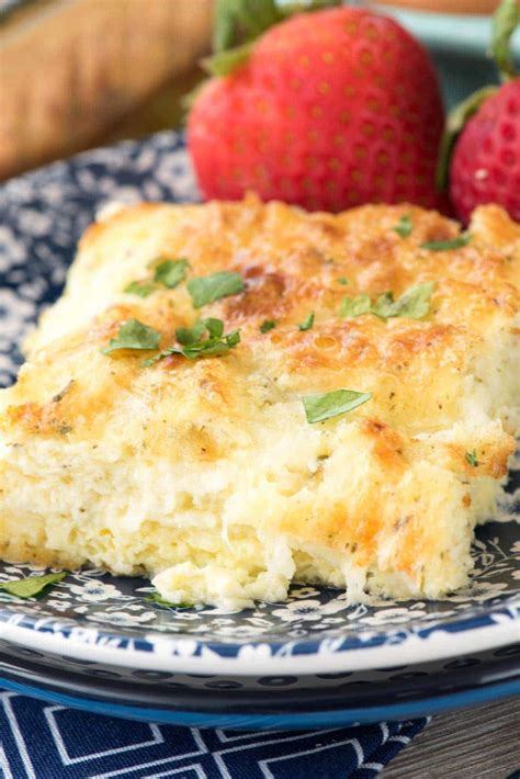 egg casserole cottage cheese