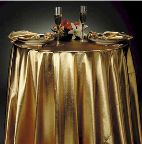gold lame tablecloth eclectic tablecloths by